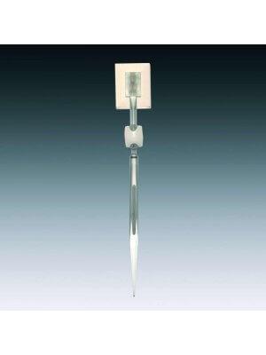 Skilteholder m/ klæbebeholder - Clear-Grip