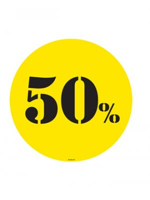 Poster - 50%