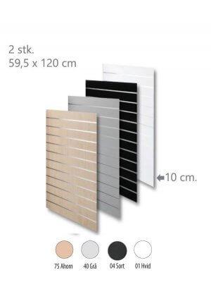 Rillepanel - standard (59,5x240 cm.)