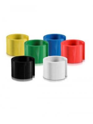Farvede minibrikker u/ tryk - 100 stk.