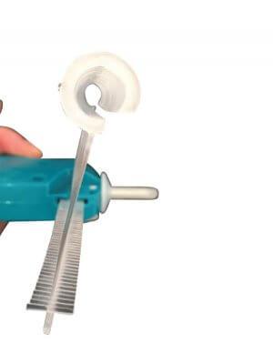 Pins m/krog t/ normale tekstilpistoler - 5.000 stk.