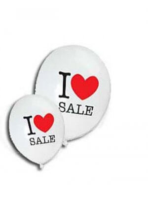 Ballon - I LOVE SALE