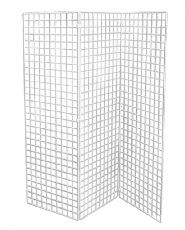 Gitter kan bruges som væg