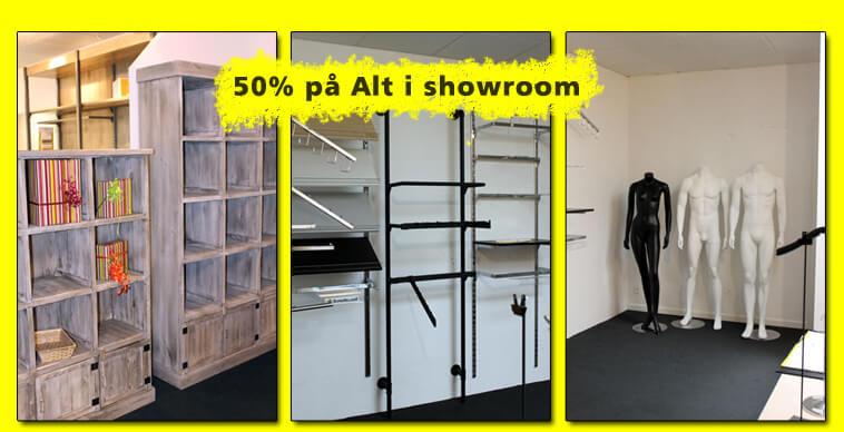 50% Showroom DK