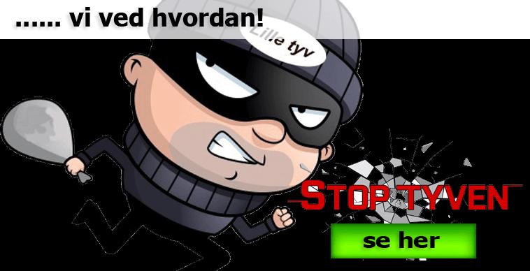 Stop tyven