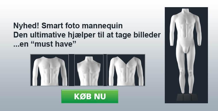 Foto mannequin - herre