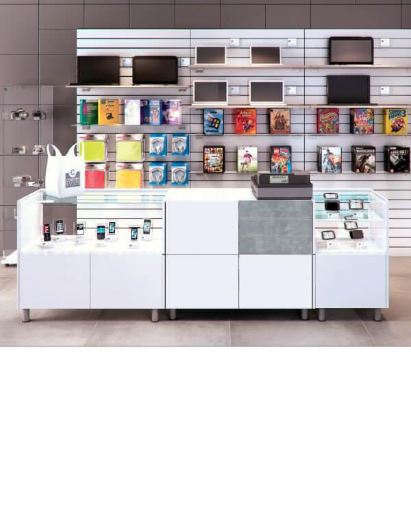 Eksempel på Bred Banko butiksdisk